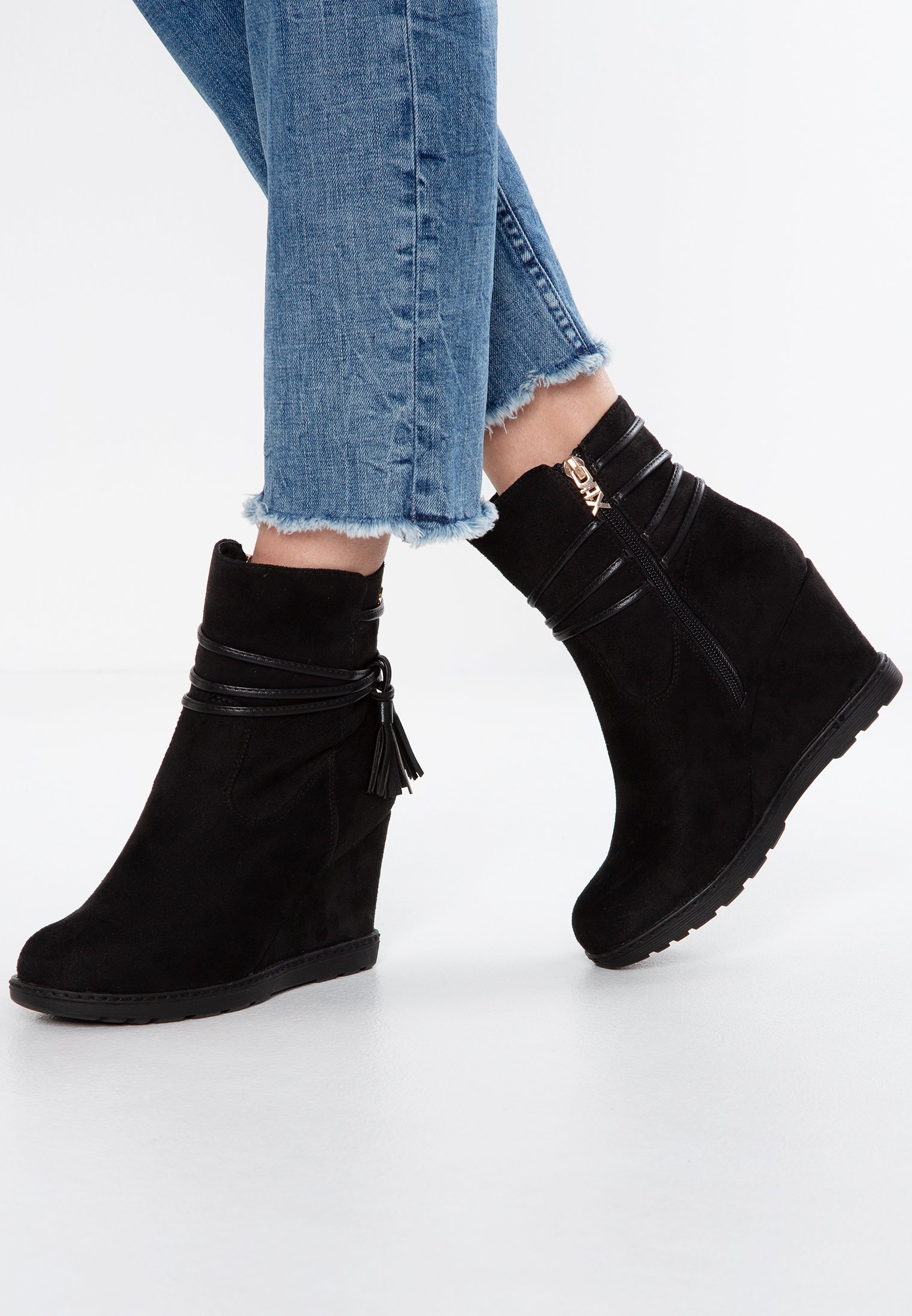 Women Wedge Ankle Boots
