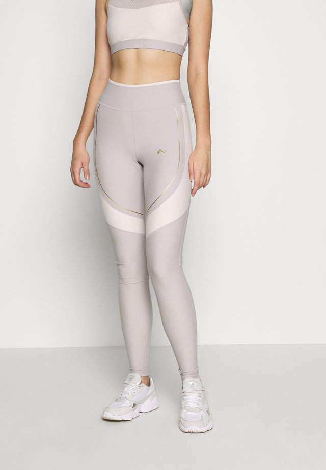 ONPJACINTE  - Legging - ashes of roses/lilac ash/ white