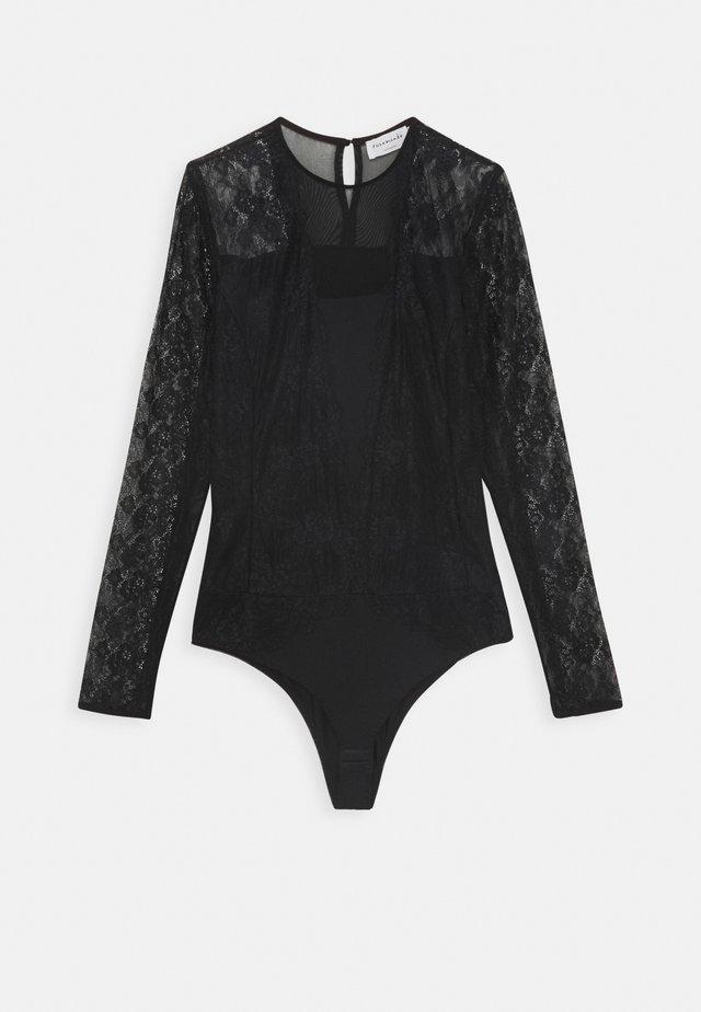 BODYSTOCKING - Long sleeved top - black