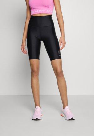 ENDURANCE SHORT - Sports shorts - black