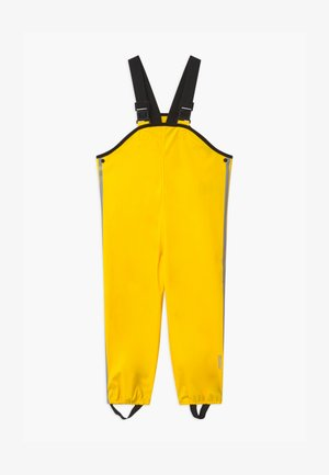 LAMMIKKO - Rain trousers - yellow