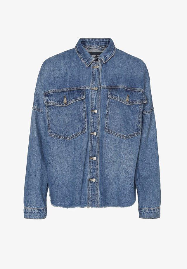 NMRICA - Denim jacket - medium blue
