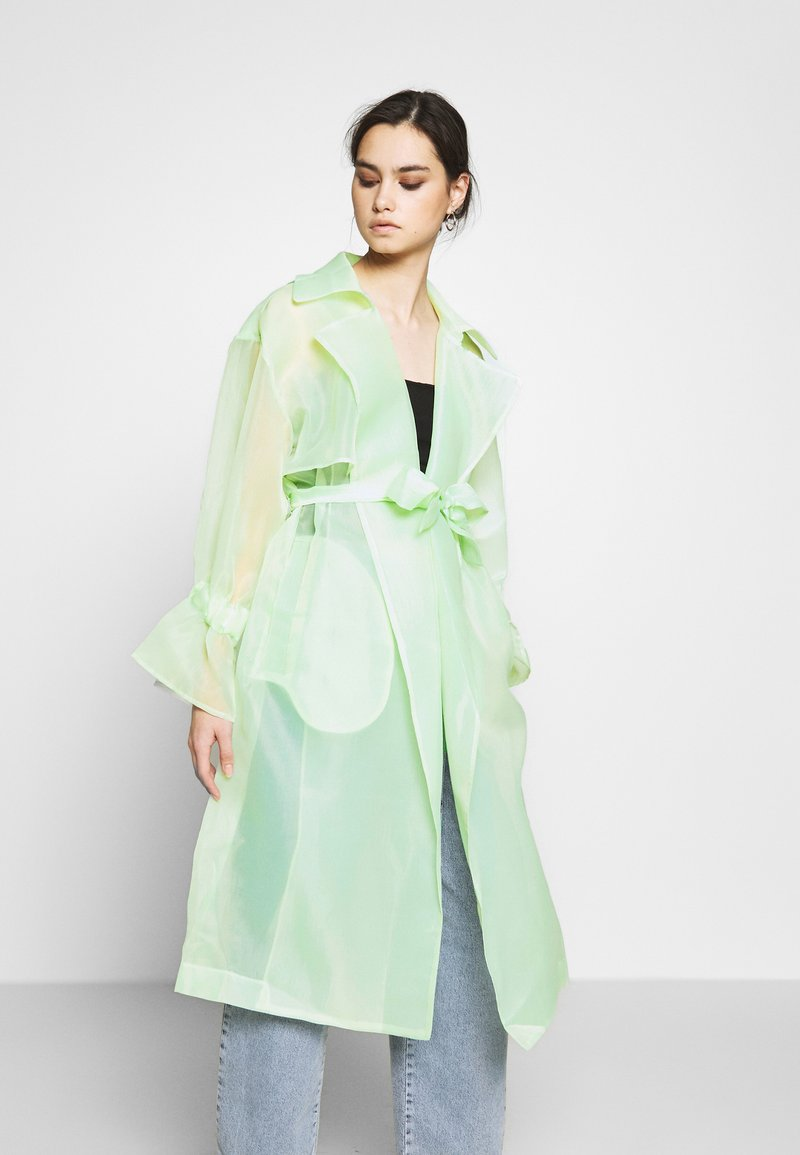 Who What Wear - Trenchcoat - pale mint