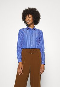 Tommy Hilfiger - SONYA - Button-down blouse - blue/white - 0