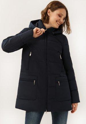 IN BEQUEMEM SCHNITT - Winter coat - cosmic blue