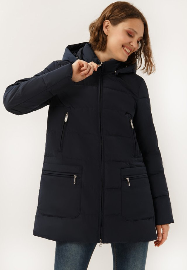 IN BEQUEMEM SCHNITT - Winter coat - cosmic blue