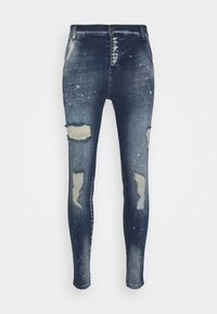 SIKSILK - DISTRESSED RIOT - Jeans Skinny Fit - raw blue - 3