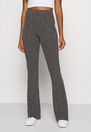 VMKAMMA FLARED PANT - Pantalones - medium grey melange