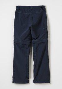 Jack Wolfskin - SAFARI ZIP OFF PANTS 2-IN-1 - Outdoorové kalhoty - night blue - 1