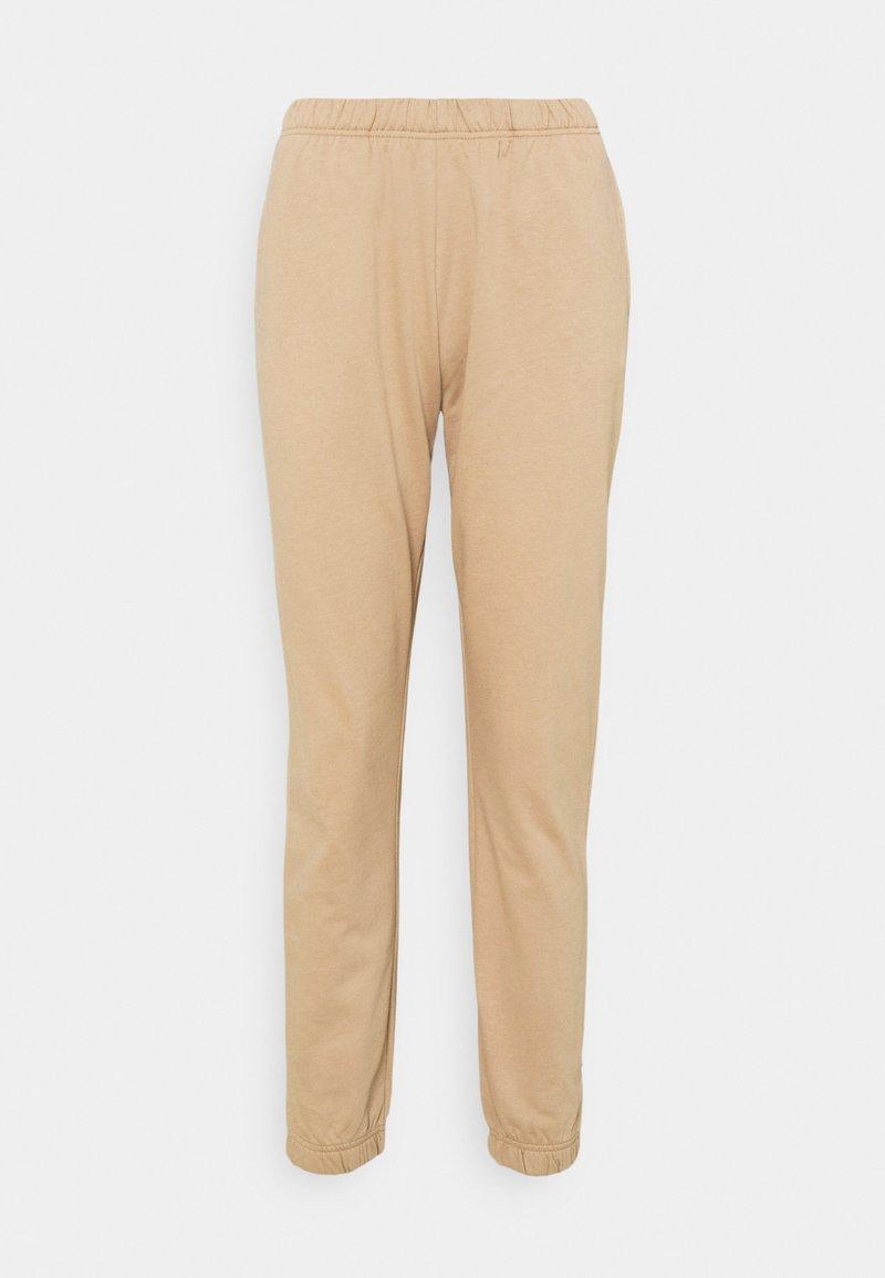 ONLY - DREAMER LIFE - Teplákové kalhoty - silver mink