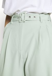 Missguided Tall - BALLOON WIDE LEG TROUSERS - Spodnie materiałowe - mint - 4