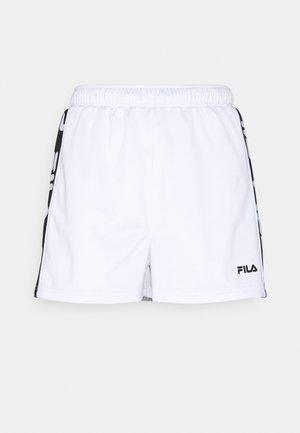 FIONA HIGH WAIST - Shorts - bright white