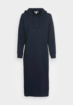 HOODED DRESS - Robe d'été - navy