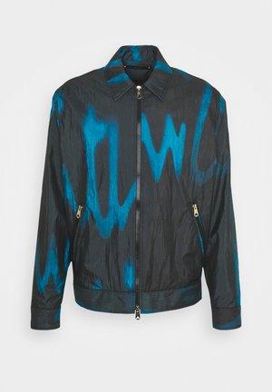 GENTS CASUAL ZIP JACKET - Summer jacket - navy