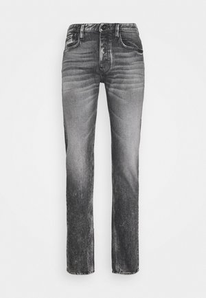 Jeansy Slim Fit - grey denim