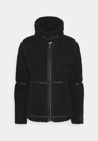 JDYTEDD BIKER JACKET - Winter jacket - black