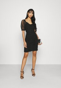 ONLY - ONLDANCE PUFF DRESS  - Cocktail dress / Party dress - black - 1