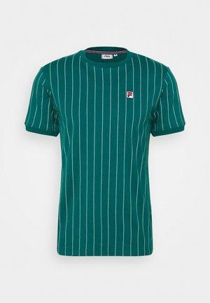 RINGER TEE - T-shirt med print - storm
