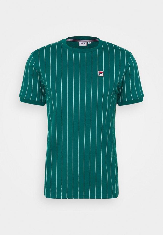 RINGER TEE - Print T-shirt - storm
