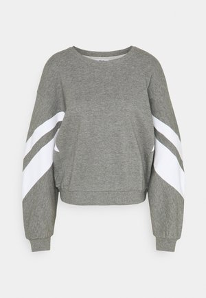 ONLJOSSA SPORTY - Felpa - medium grey melange