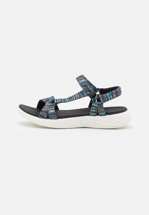 ON THE GO 600 - Walking sandals - black/white