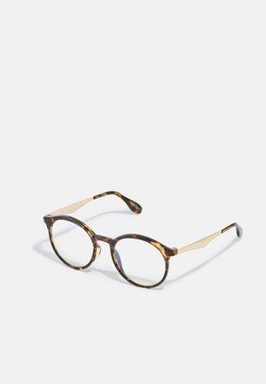 UNISEX - Blue light glasses - tort