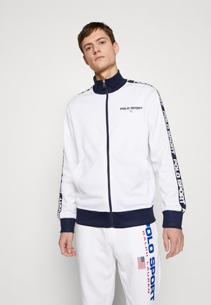 TRICOT - Training jacket - pure white