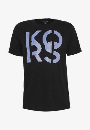 STACKED - T-shirt imprimé - black