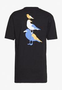 Cleptomanicx - BREMEN GULLS - T-shirt z nadrukiem - black - 1