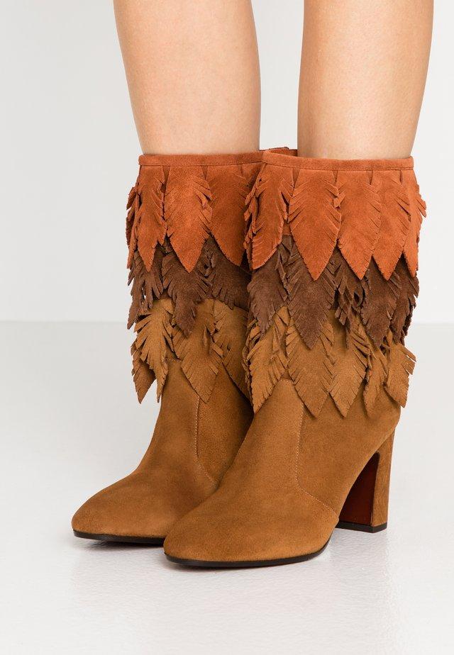 ECEL - Classic ankle boots - canela/west castano