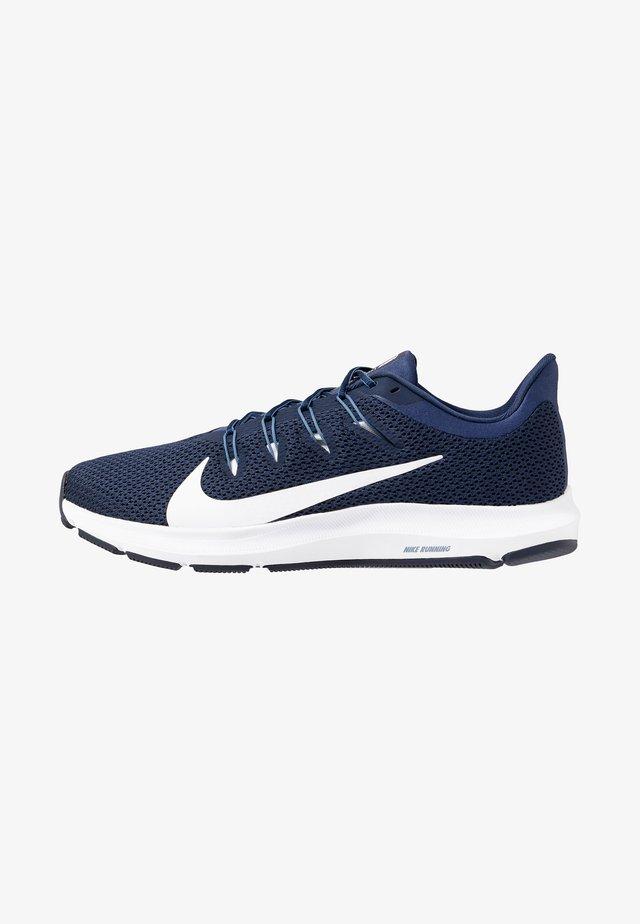 QUEST 2 - Neutral running shoes - midnight navy/white/ocean fog
