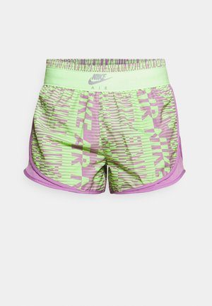 AIR TEMPO SHORT - Sports shorts - lime glow/violet shock/black