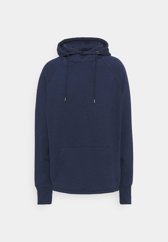 PLUS CURVE HOODIE - Sweatshirt - navy
