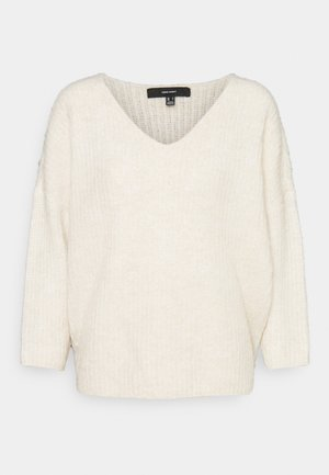 VMJULIE V-NECK  - Strickpullover - birch