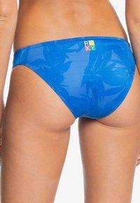Roxy - POP SURF  - Bikini bottoms - princess blue texture flower - 2