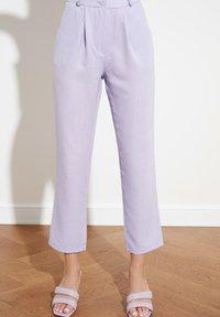 Trendyol - PARENT - Pantalones - purple - 1