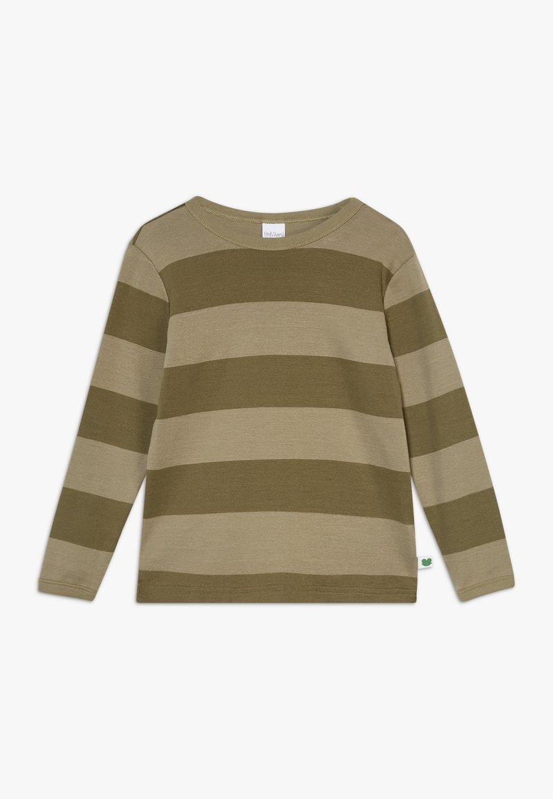 Fred's World by GREEN COTTON - STRIPE  - Long sleeved top - dream moss