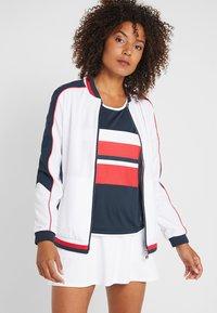 Fila - JACKET AMANDA - Sportovní bunda - white/blue/red - 0