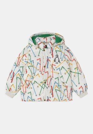 SKIS PUFFER UNISEX - Winter jacket - off white
