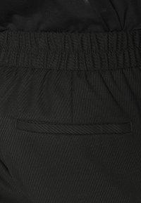 Topman - GRY PRONOUNCED RELAXED - Kangashousut - black - 4