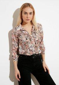 Trendyol - Button-down blouse - white - 0