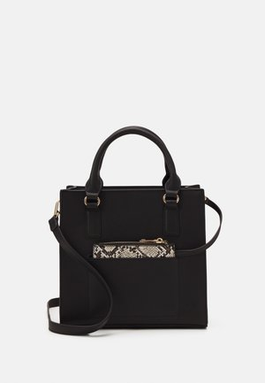 Handbag - black/beige