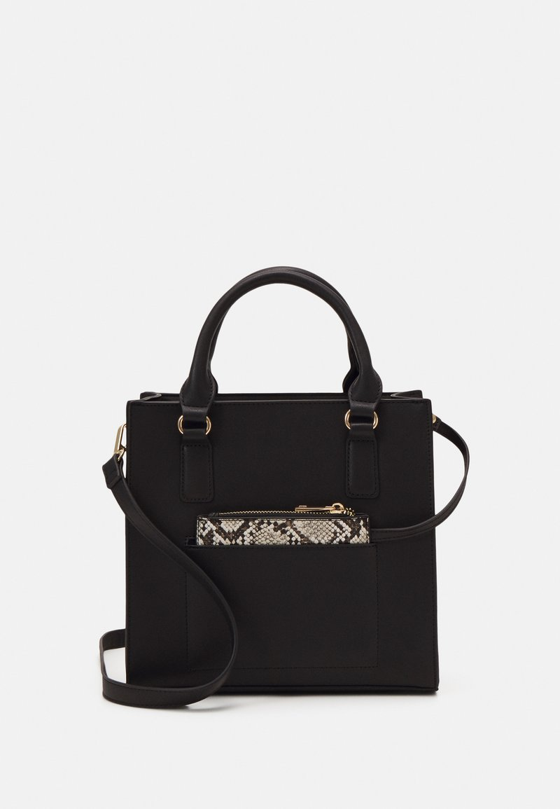 Even&Odd - Handbag - black/beige