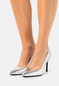 Calvin Klein - ESSENTIAL  - High heels - silver - 0
