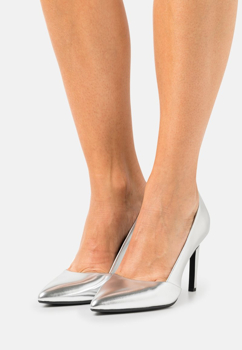 Calvin Klein - ESSENTIAL  - High heels - silver