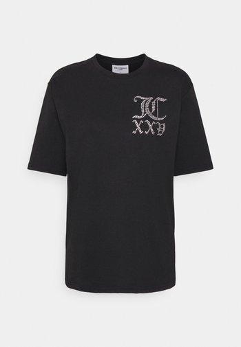 NUMERAL - Print T-shirt - black