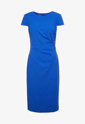 LUXE TECH CREPE DRESS - Shift dress - french blue