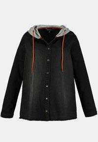 Ulla Popken - Denim jacket - black - 1