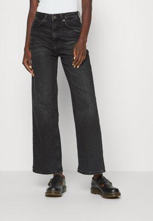 LEXA SKY HIGH - Straight leg jeans - black wiser
