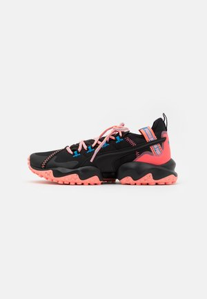 ERUPT TRL - Trail running shoes - black/nrgy peach